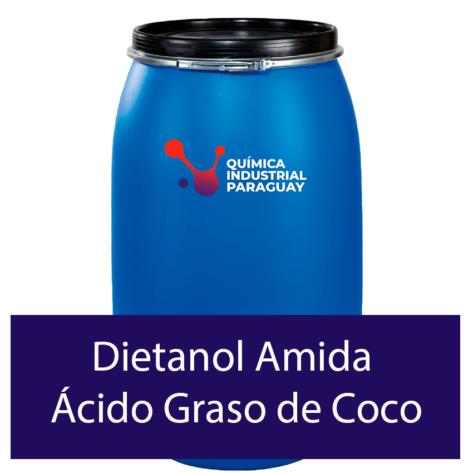 Venta de Dietanol Amida Ácido Graso de Coco en Paraguay