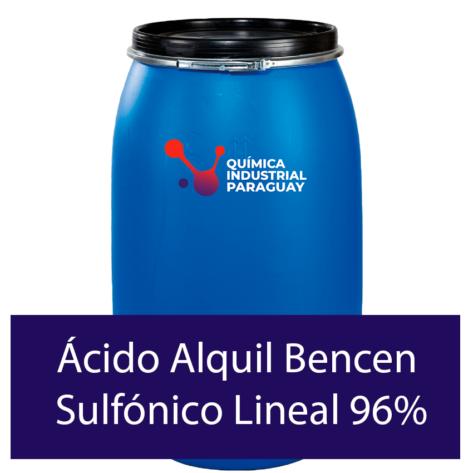 Venta de Ácido Alquil Bencen Sulfónico Lineal 96% en Paraguay